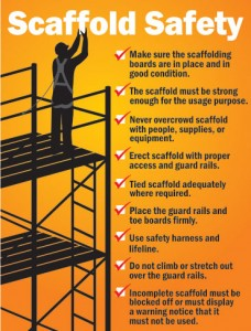 Scaffolding Hire health and safety